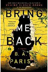 Bring Me Back Paperback