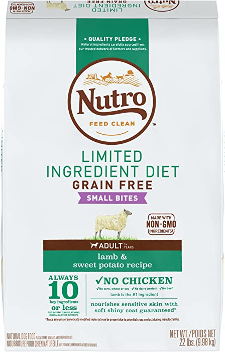 The Best Nutro Limited Ingredient Small Bites Dog Food