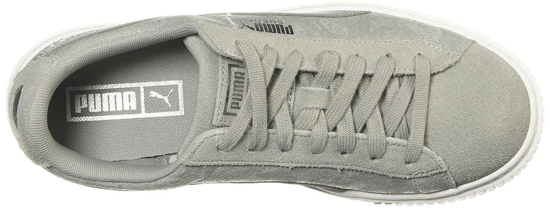 Puma Damen Suede Heart Safari Sneaker Grau Grau Grau f2d73e