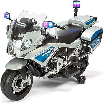 BMW TY6106SV - Bicicleta eléctrica de policía: Amazon.es: Juguetes ...