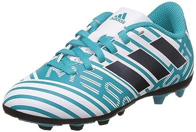 pretty nice 7f045 75f35 adidas Nemeziz Messi 17.4 Fxg J, Chaussures de Football Garçon, Multicolore  (Ftwr White