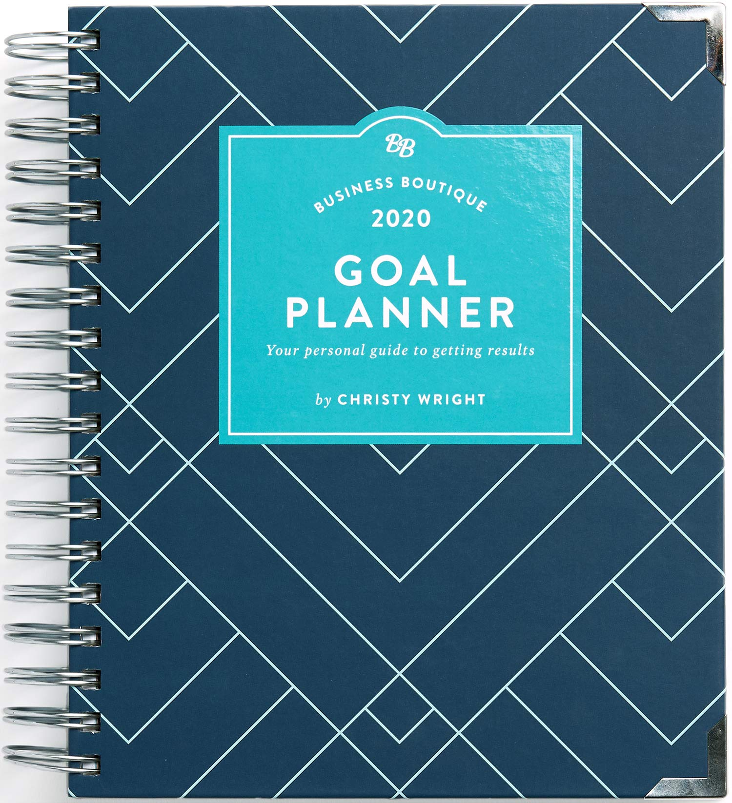 Business Boutique Goal Planner 2020  Your Personal Guide To Getting Results