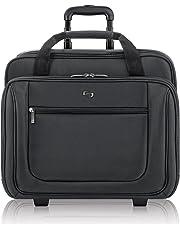 """Solo Classic 17.3"""" Laptop Rolling Case, Black, PT136-4"""