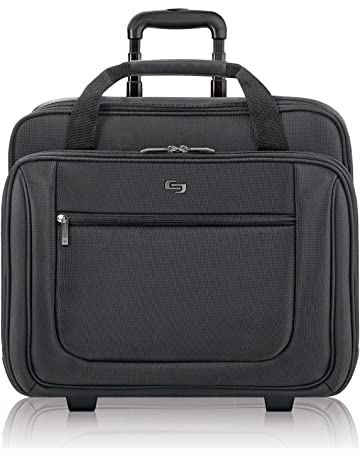 2a2363c3d144 Solo New York Bryant Rolling Laptop Bag. Rolling Briefcase for Women and  Men. Fits