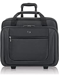 31e194f6d76e Solo New York Bryant Rolling Laptop Bag. Rolling Briefcase for Women and Men.  Fits