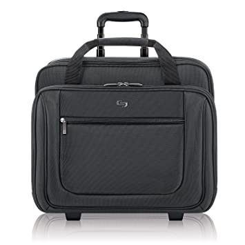 b9a7e812d3 Amazon.com  Solo Bryant Rolling Laptop Bag