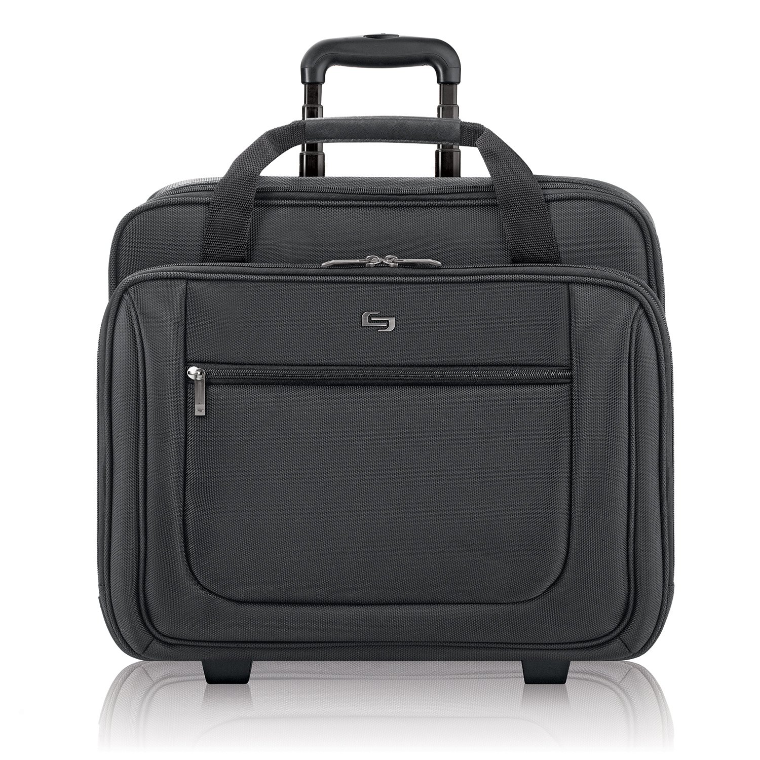 Solo Bryant 17.3 Inch Rolling Laptop Case, Black by SOLO