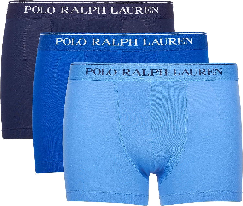 Polo Ralph Lauren | 3 Boxer Pack En Algodon Azul ...