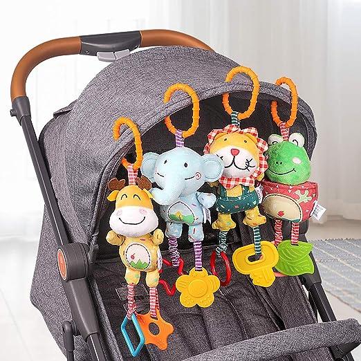 Amazon.com: Juguete de bebé, sonajero, carriola ...