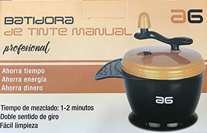 Batidora de tinte manual: Amazon.es: Belleza
