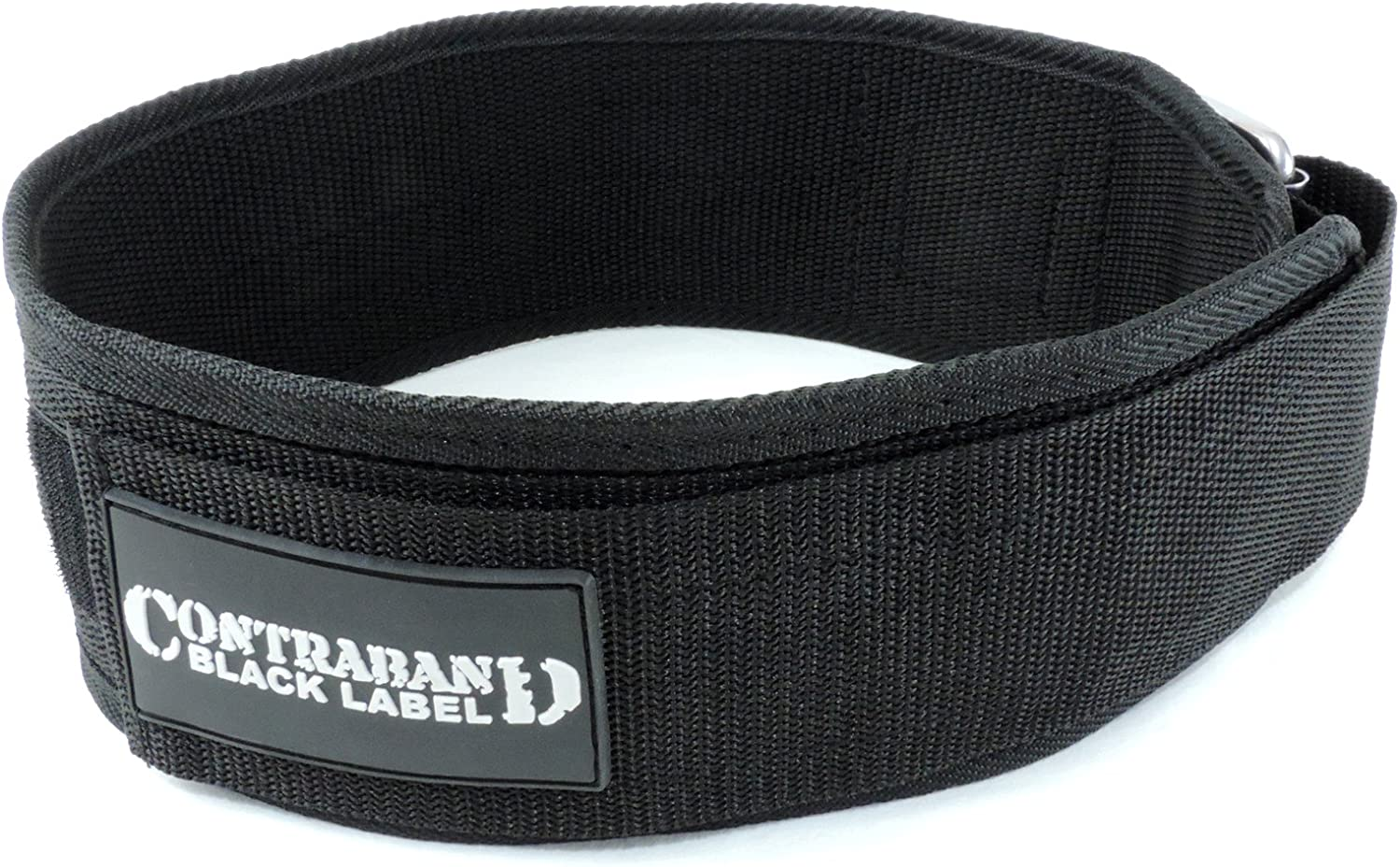 Perfect Heavy Duty Back Support for Weightlifting Bodybuilding Powerlifting Men /& Women Contraband Black Label 4010 4inch Nylon Weight Lifting Belt w//Hook /& Loop