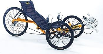 Artifice Adult 24-speed Three Wheel Recumbent Bike