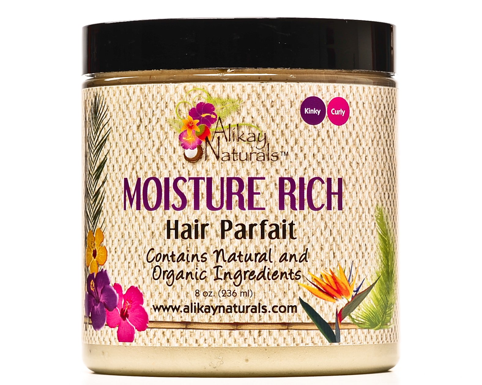 Alikay Naturals Moisturizer Rich Hair Parf, 8 Ounce