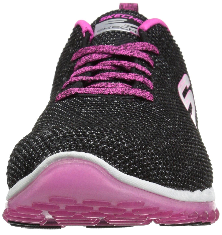 Skechers Women's Skech Air 2.0 Next Chapter US|Black Sneaker B074BZFZJC 10 B(M) US|Black Chapter Hot Pink 457071