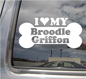 Landscape Car Brussels Griffon Sticker