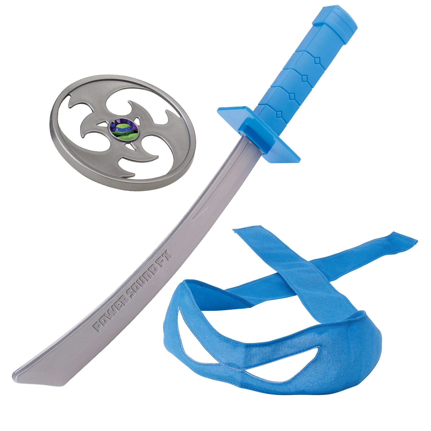 Teenage Mutant Ninja Turtles Combat Gear Leonardo Power Sound Sword Roleplay ...