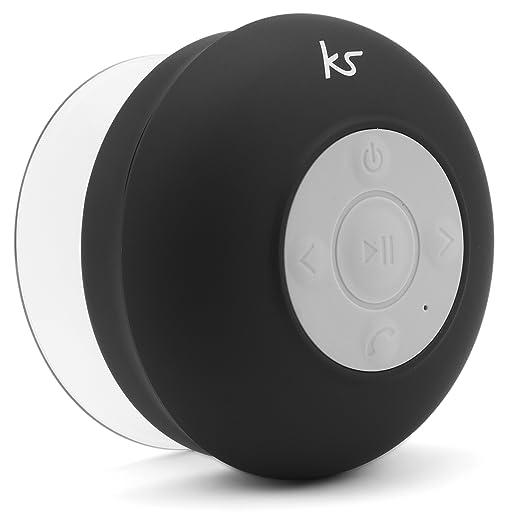3 opinioni per Kitsound Rinse Altoparlante Portatile con Ventosa, Impermeabile, Bluetooth,