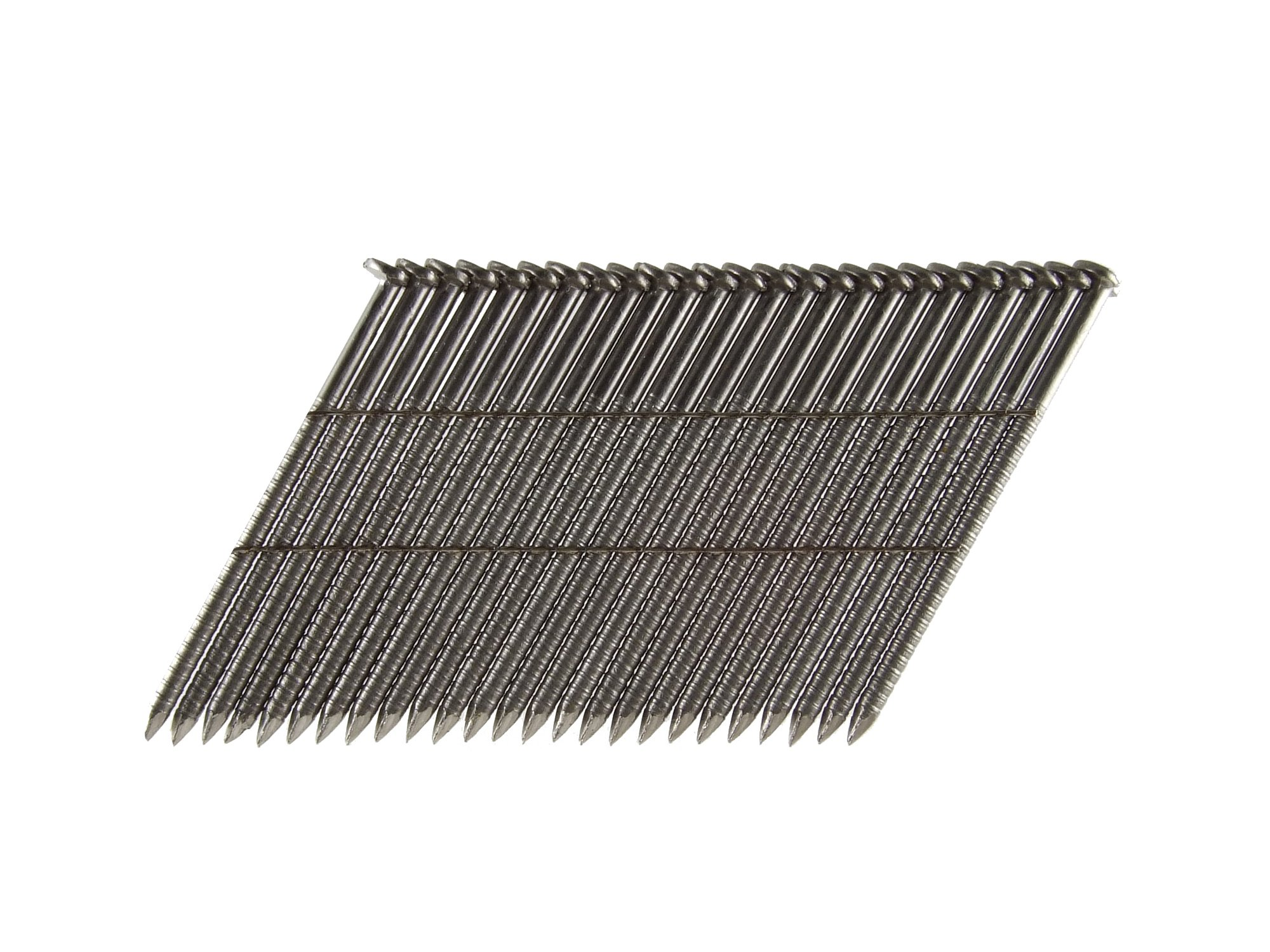 B&C Eagle 314X120RSS/28 Offset Round Head 3-1/4-Inch x .120 x 28 Degree S304 Stainless Steel Ring Shank Wire Collated Framing Nails (1,000 per box)