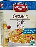 Arrowhead Mills Organic Cereal, Spelt Flakes, 12 Ounce