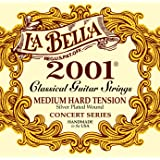 LaBella 653817 Saiten für Klassikgitarre Professional Studio Satz Medium Hard