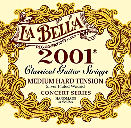 La Bella 2001- Medium Hard Tension