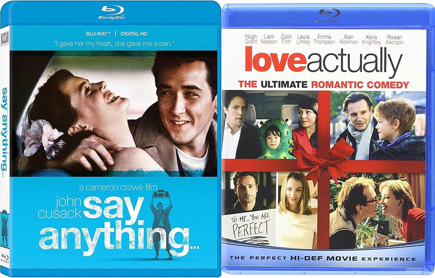 Amazon com: Love Actually & Say Anything Double Feature Love