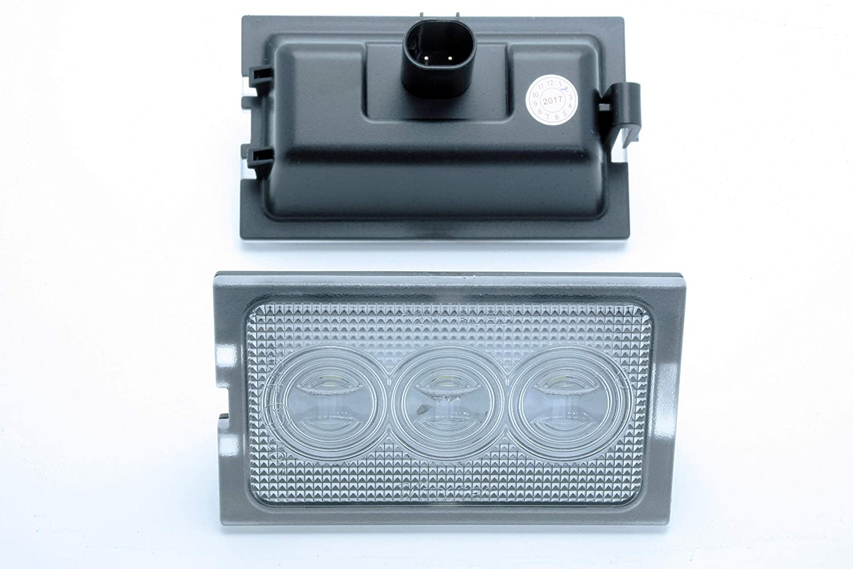 2x PLACCHETTE A LED LUCI TARGA Land Range Rover Sport LS Freelander 2 II Discovery 4 IV CANBUS