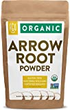 Organic Arrowroot Powder (Flour) | 16oz Resealable Kraft Bag (1lb) | 100% Raw From Thailand | by FGO