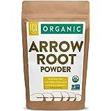 Organic Arrowroot Powder (Flour) | 16oz Resealable Kraft Bag (1lb) | 100% Raw From Thailand | by FGO