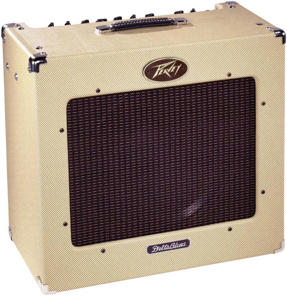 Peavey 03327810 Delta Blue 115 1x15-Inches 30-Watt Tube Combo Amplifier