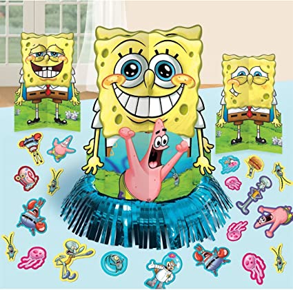 Amazon.com: Spongebob Squarepants Fiesta Decoraciones de ...
