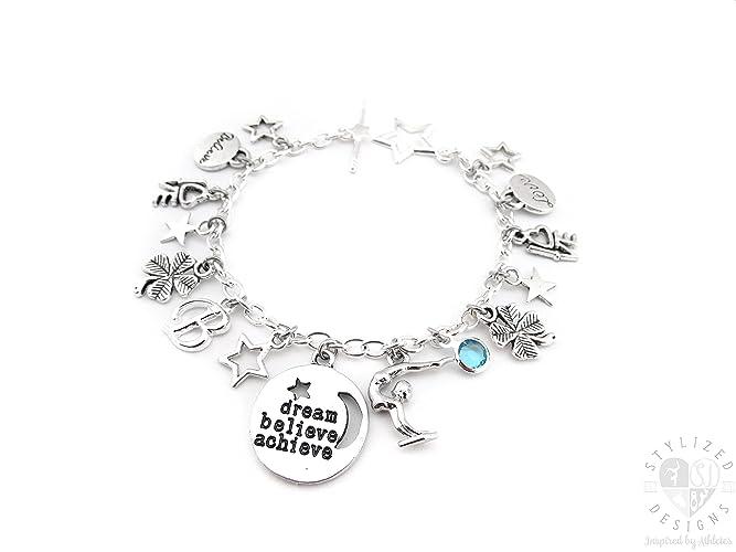1bed8ebd8 Amazon.com: Gymnastics Bracelet, Gymnastics Jewelry, Gymnastics ...
