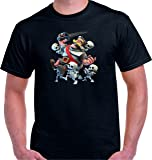 Camiseta Royale Attack Skulls