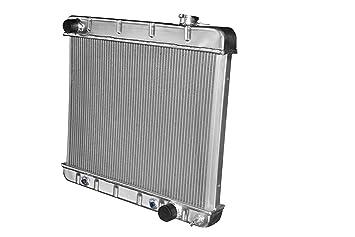 V8 3 CORES Fit 1963 1964 1965 1966 Chevy Truck C10 C20 C30 Aluminum Radiator