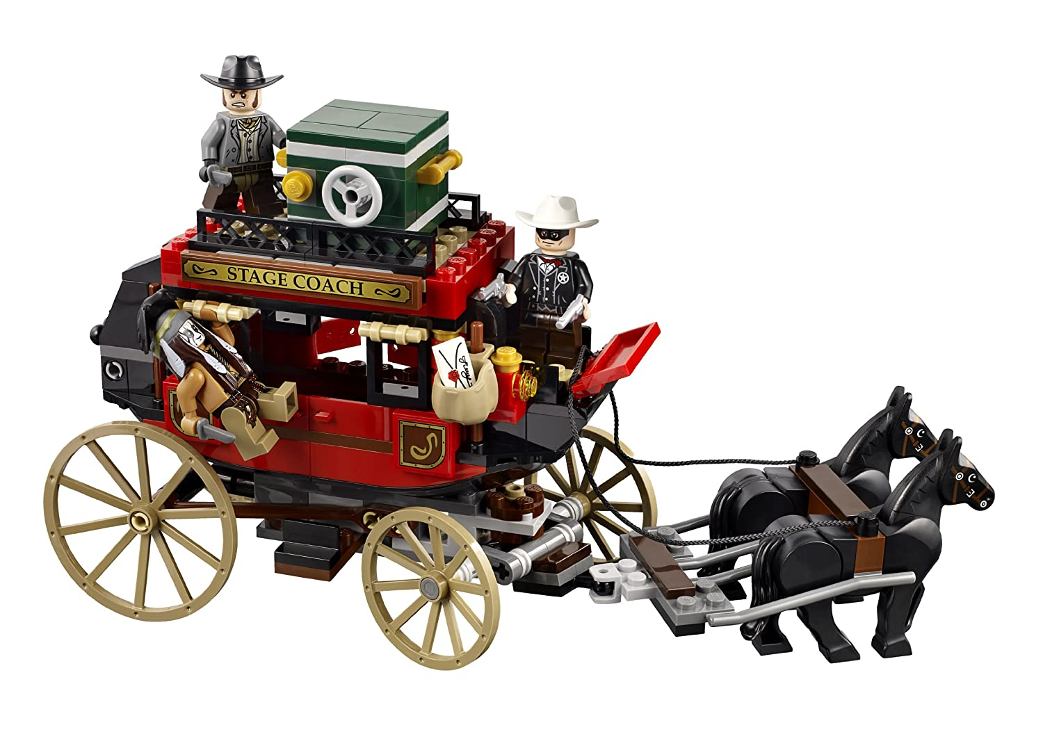 MOC: Bad Cop's Rolling Jail Stagecoach - Special LEGO Themes ...