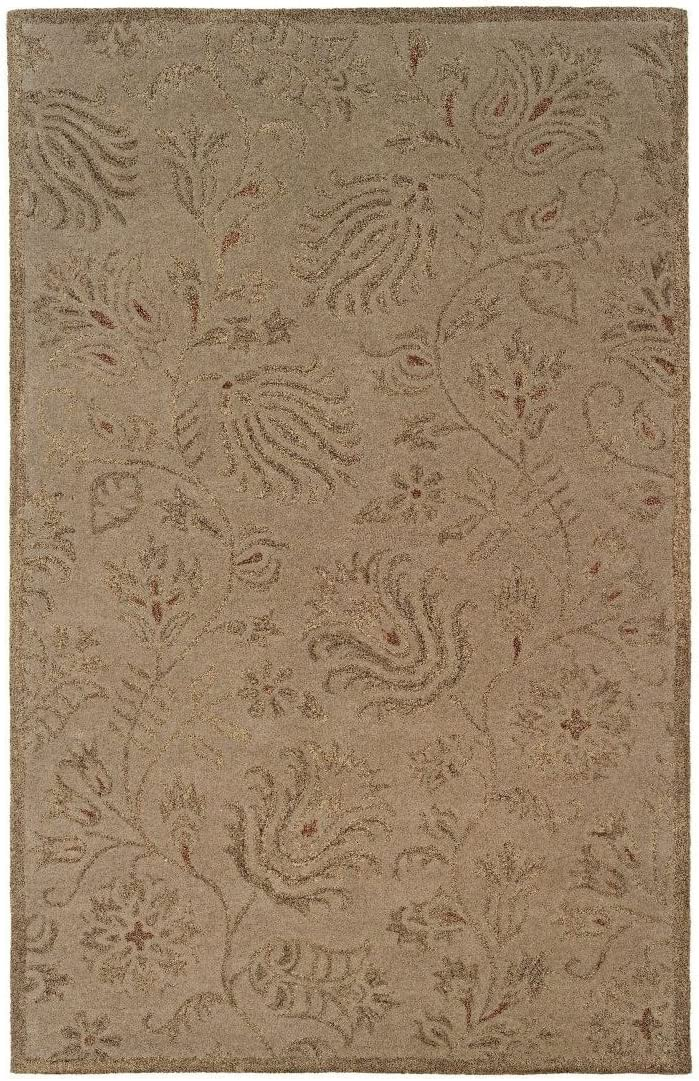 Area Rug in Gold 11 ft. L x 8 ft. W 71 lbs.