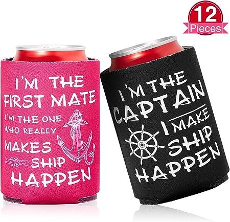Durable de usar: nuestros enfriadores de bebidas náuticas para vela están hechos de neopreno resiste