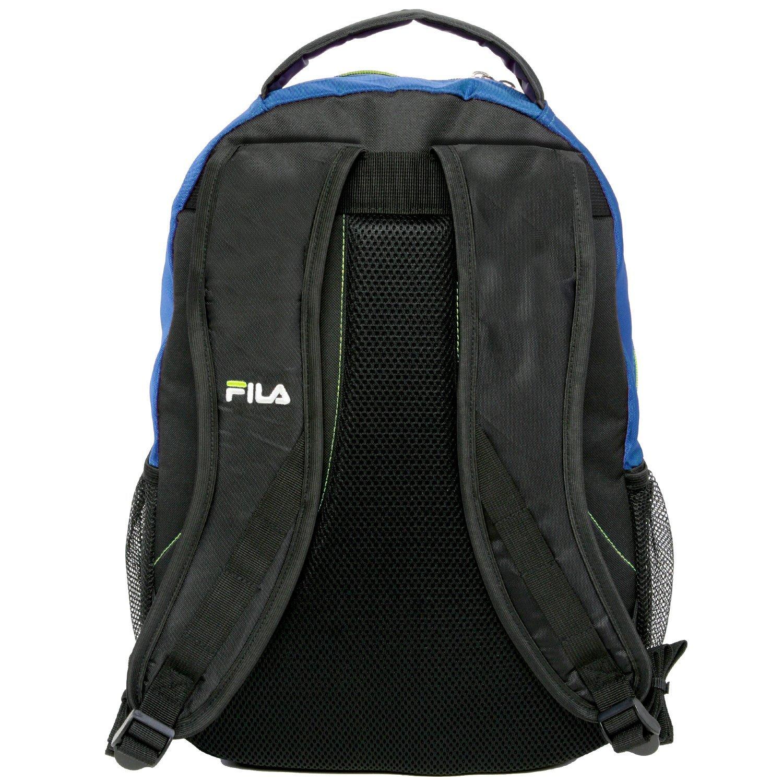 Amazon.com: Fila Colton School Computer Tablet Bag Backpack, Blue/Neon Lime