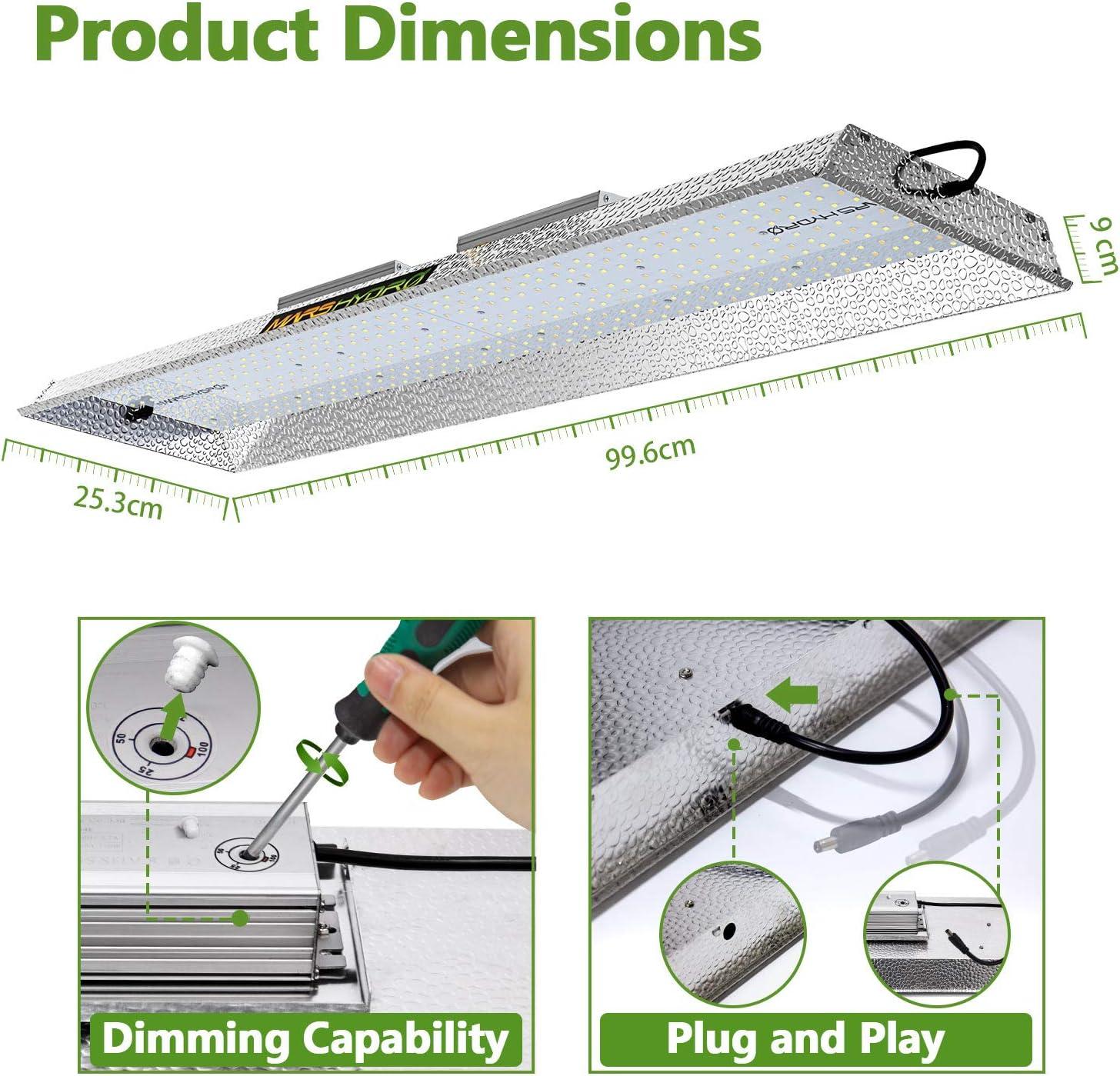 MarsHydro TS 2000 lampada LED per piante