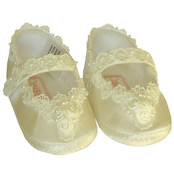 1a11e2107d20 Image Unavailable. Image not available for. Colour  Christening Pram Shoes  Personalised Girls ...