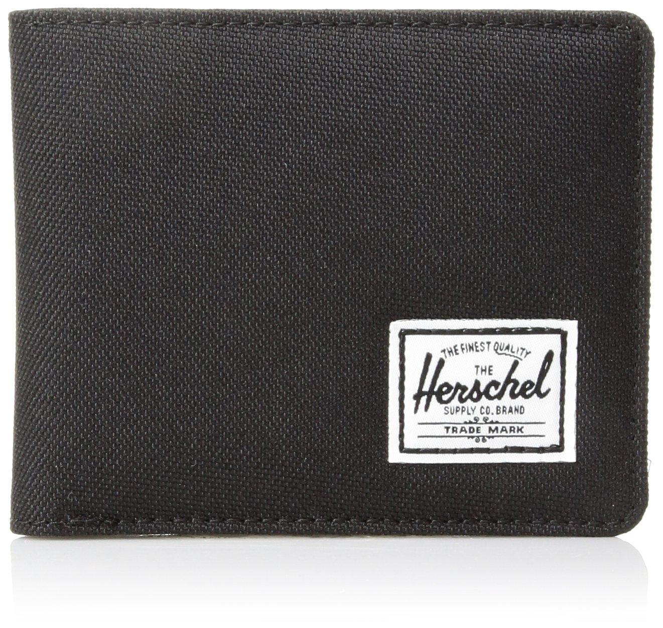Herschel Supply Co. Men's Hank Wallet, Black, One Size