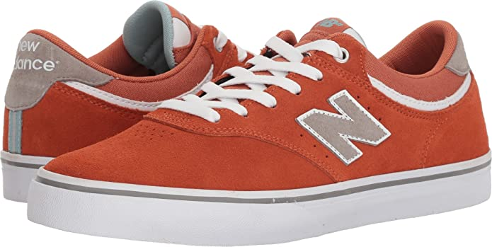New Balance Numeric 255 Sneakers Skateschuhe Orange/Weiß