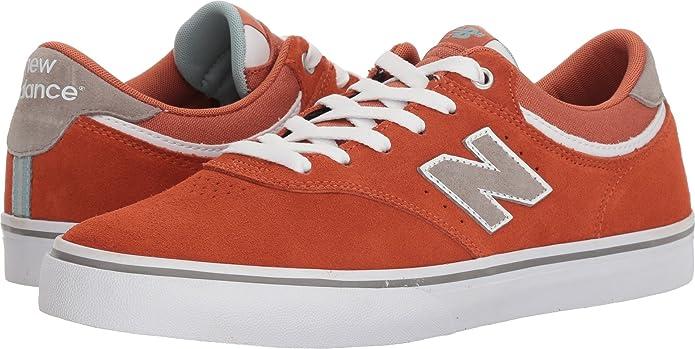 New Balance Numeric 255 Sneakers Skateschuhe Orange/Weiß