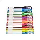 Amazon Basics Multi-Color Gel Pen Set - 44 Count