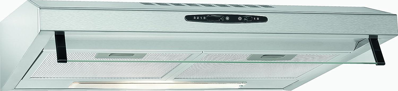 Bomann DU623.2 - Campana extractora 60cm, recirculación de aire o por conducto, 3 niveles potencia, filtros extraibles de aluminio lavables, acero inoxidable: Amazon.es: Grandes electrodomésticos