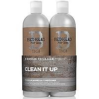Tigi Bed Head B for Men Clean Up Kit By for Men - 2 Pc Kit 25.36 Oz Shampoo, 25.36...