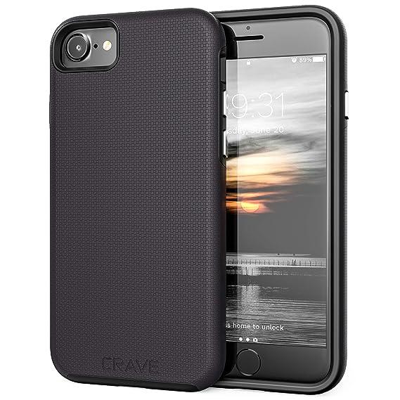 amazon com iphone 8 case, iphone 7 case, crave dual guard