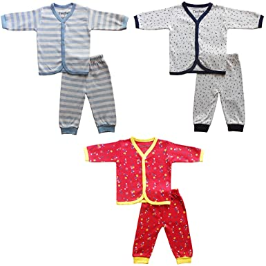 dab831200 NammaBaby Baby Boy s and Baby Girl s Cotton Front Open Full Sleeves ...