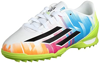 4d1513bfd Adidas Astro Turf Football Trainers Messi F10 Boys Girls Sizes 12.5 - 5.5  NEW (UK