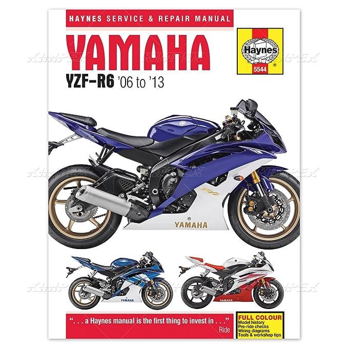 yamaha r6 yzf r6 haynes manual 2006 2012 amazon co uk car motorbike rh amazon co uk 2015 Yamaha R6 2010 Yamaha R6